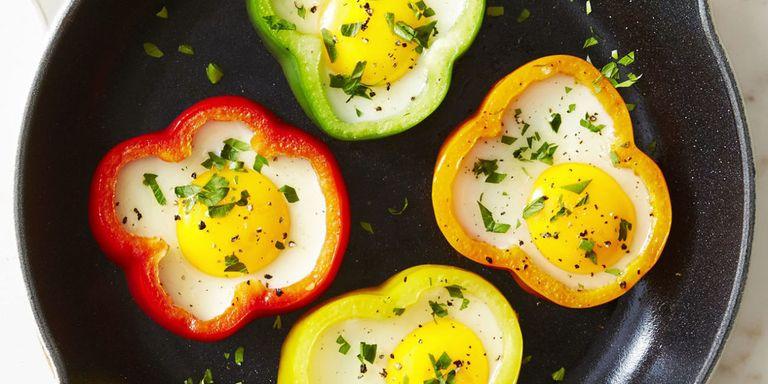 وصفات بيض للفطور - طريقة عمل البيض في الفلفل