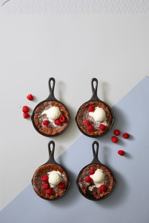 Skillet Brownie Recipe - Mother's Day Desserts