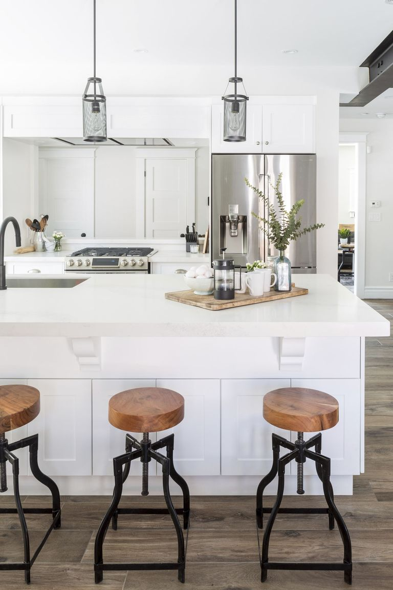 40 best kitchen ideas decor and decorating ideas for for Hall design for middle class family