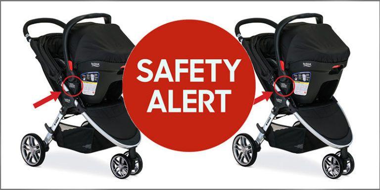Britax Stroller Recall - Britax Recalls Nearly 700,000 Strollers