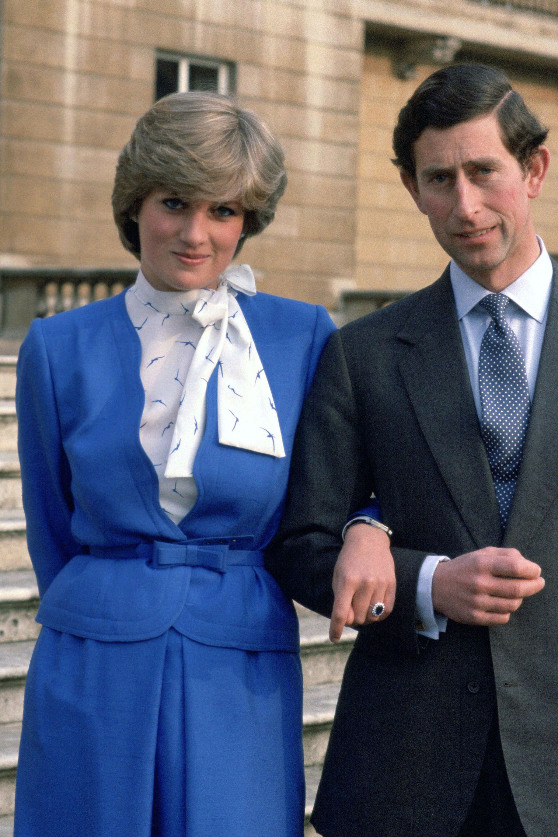 Princess Diana 1981 Engagement