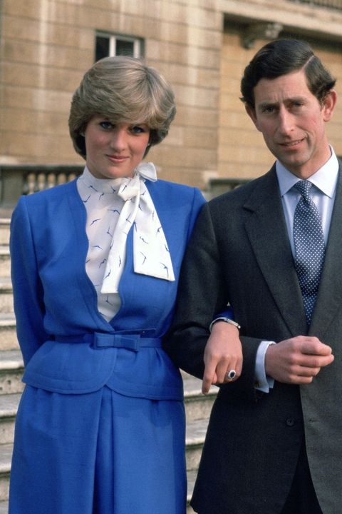 Princess Diana 1981 Engagement - Princess Diana Hair