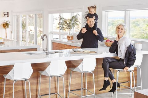 "<p>When supermodel&nbsp;Coco Rocha and her&nbsp;husband, James&nbsp;Conran (an artist&nbsp;and designer), found&nbsp;their new home in&nbsp;Westchester County,&nbsp;New York, they spent ample&nbsp;time transforming it&nbsp;into a modern, happy&nbsp;abode to share with&nbsp;daughter Ioni. The&nbsp;cool, casual space&nbsp;reflects how the star&nbsp;approaches everything&nbsp;in her life — especially&nbsp;raising her daughter.&nbsp;""The best [motherhood]&nbsp;advice I ever&nbsp;got was to not take&nbsp;anyone's advice,"" says&nbsp;Coco. ""There are so&nbsp;many different ways&nbsp;of parenting — if your&nbsp;child is loved, happy&nbsp;and fed, then there&nbsp;is nothing wrong with&nbsp;what you're doing.""&nbsp;Also on the savvy&nbsp;businesswoman's&nbsp;to-do list? Heading&nbsp;up Nomad modeling&nbsp;agency, where she'll&nbsp;mentor young up-and-comers&nbsp;and pass along&nbsp;her industry insight&nbsp;to the next generation&nbsp;of catwalk superstars.</p><p><em data-redactor-tag=""em"" data-verified=""redactor"">Cosentino <strong data-redactor-tag=""strong"" data-verified=""redactor"">countertops,</strong>&nbsp;<a href=""http://www.ecobycosentino.com"" target=""_blank"" data-tracking-id=""recirc-text-link"">ecobycosentino.com</a>. <strong data-redactor-tag=""strong"" data-verified=""redactor"">Cabinetry, </strong><a href=""http://www.semihandmadedoors.com"" target=""_blank"" data-tracking-id=""recirc-text-link"">semihandmadedoors.com</a>. <strong data-redactor-tag=""strong"" data-verified=""redactor"">Faucet, </strong>Kohler, <a href=""http://www.us.kohler.com"" target=""_blank"" data-tracking-id=""recirc-text-link"">us.kohler.com</a>. <strong data-redactor-tag=""strong"" data-verified=""redactor"">Chair,</strong> Real Good in White/Grey, $179, <a href=""http://www.bludot.com"" target=""_blank"" data-tracking-id=""recirc-text-link"">bludot.com</a>. <strong data-redactor-tag=""strong"" data-verified=""redactor"">Glass &amp; Copper b</strong><strong data-redactor-tag=""strong"" data-verified=""redactor"">alloon vase, </strong>$48, <a href=""http://www.tuvaluhome.com"" target=""_blank"" data-tracking-id=""recirc-text-link"">tuvaluhome.com</a>. <strong data-redactor-tag=""strong"" data-verified=""redactor"">White fruit bowl, </strong>$100, <a href=""http://www.chango.co"" target=""_blank"" data-tracking-id=""recirc-text-link"">chango.co</a>.&nbsp;</em></p>"