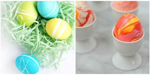 14 Easter Egg Dyeing Ideas - How to Dye Easter Eggs