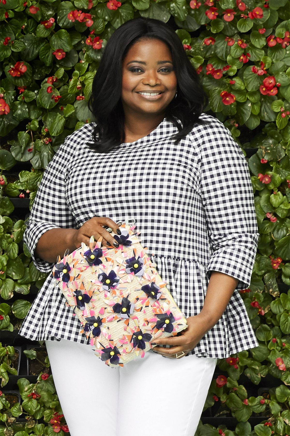 "<p>The traditional picnic&nbsp&#x3B;pattern is extra chic&nbsp&#x3B;(and figure-flattering!)&nbsp&#x3B;in a sassy peplum top.</p><p><em data-redactor-tag=""em"" data-verified=""redactor""><strong data-redactor-tag=""strong"" data-verified=""redactor"">Top, </strong>Victoria Beckham for Target, $28, <a href=""http://www.target.com"" target=""_blank"" data-tracking-id=""recirc-text-link"">target.com</a>. <strong data-redactor-tag=""strong"" data-verified=""redactor"">Jeans,</strong> $50,<a href=""http://www.ashleystewart.com"" target=""_blank"" data-tracking-id=""recirc-text-link"">ashleystewart.com</a>. <strong data-redactor-tag=""strong"" data-verified=""redactor"">Clutch, </strong>$118, <a href=""http://www.trinaturk.com"" target=""_blank"" data-tracking-id=""recirc-text-link"">trinaturk.com</a>. <strong data-redactor-tag=""strong"" data-verified=""redactor"">Ring, </strong>$60, <a href=""http://www.shopshashi.com"" target=""_blank"" data-tracking-id=""recirc-text-link"">shopshashi.com</a>.&nbsp&#x3B;</em></p>"