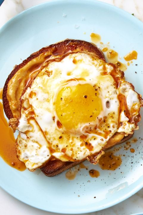 Smoky Red Pepper Crispy Egg Toast