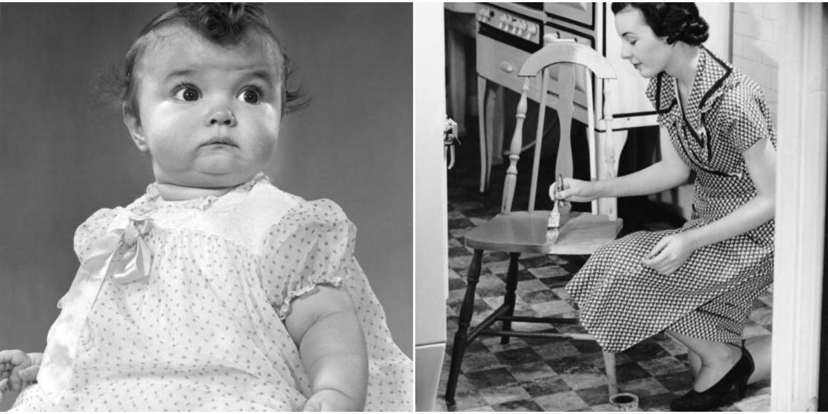 The 33 Weirdest Parenting Trends of the Past 100 Years