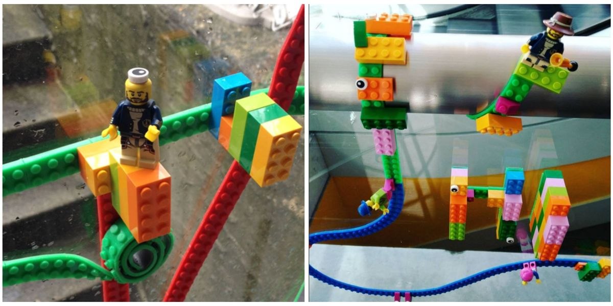 Get Your Kid Lego Tape and Watch Him Build a World on the Walls ...