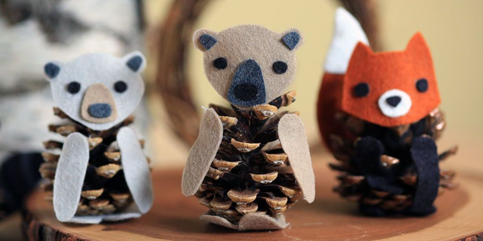 nice craft ideas how to make a felt pinecone diy projects for 2556
