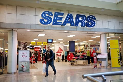 Sears storefront