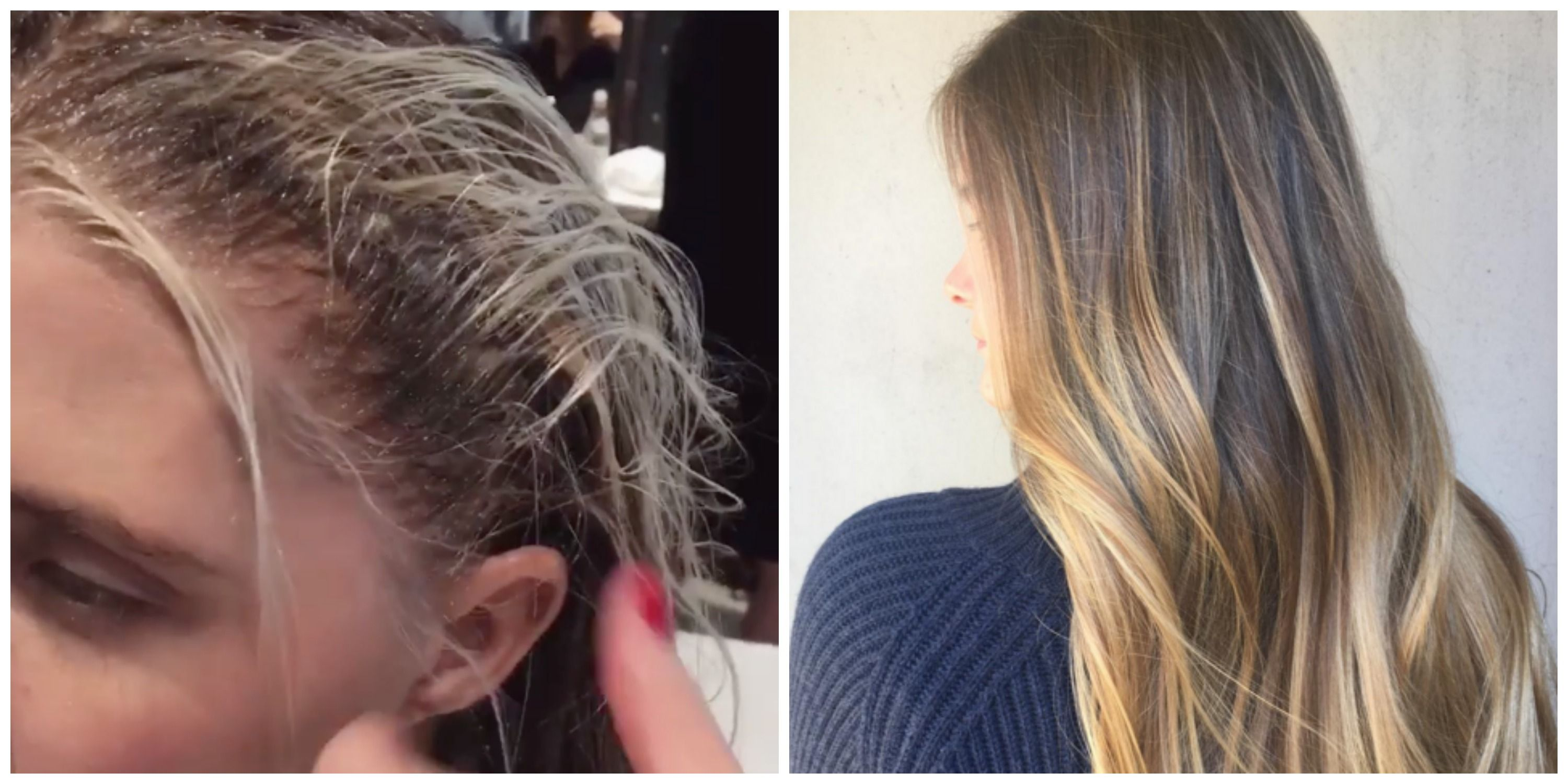 Gloss Smudging Is The Hair Color Trend Youre About To See