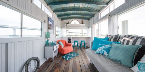 Property, Room, Building, Interior design, Turquoise, Furniture, Ceiling, Real estate, House, Home,