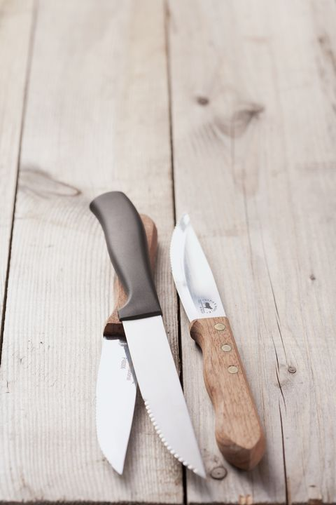 Wood, Footwear, Tableware, Knife, Shoe, Blade, Cutlery, Hardwood,