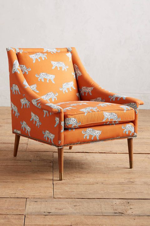 Furniture, Orange, Chair, Outdoor furniture, Club chair, Couch, Room, Chaise longue, Comfort, Interior design,