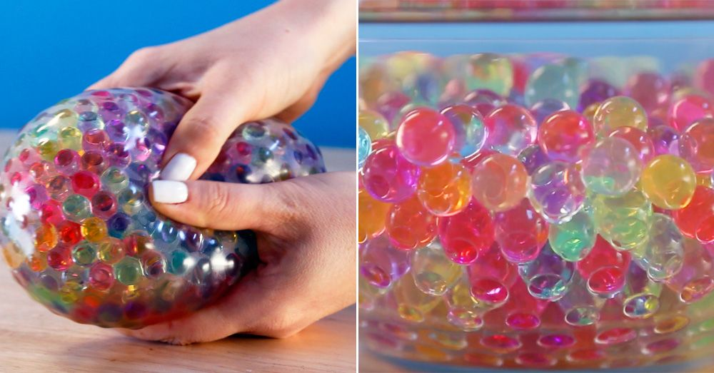 orbeez ball  How to Make an Orbeez Stress Ball - DIY Projects