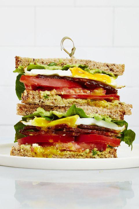 fully loaded blt   easy healthy breakfasts