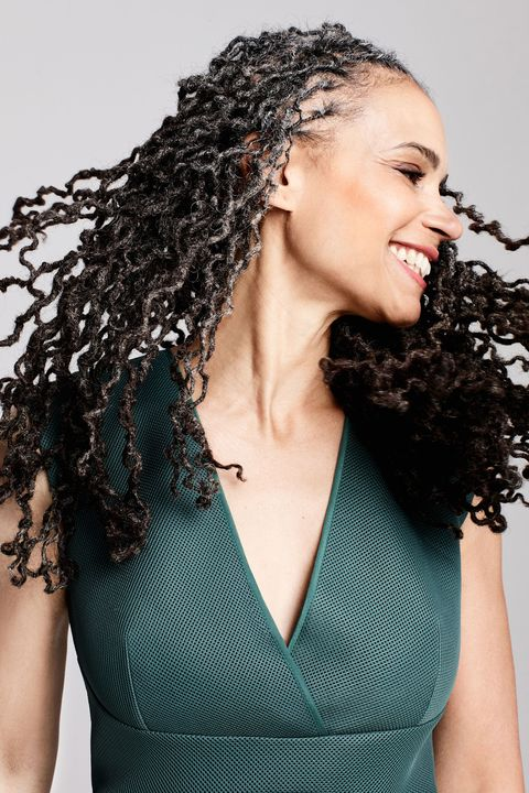 "<p> <strong data-redactor-tag=""strong"" data-verified=""redactor"">Maya Wiley, 53, founder of the&nbsp;</strong><a href=""https://www.centerforsocialinclusion.org/"" target=""_blank"" data-tracking-id=""recirc-text-link""><strong data-redactor-tag=""strong"" data-verified=""redactor"">Center for Social Inclusion</strong></a><span class=""redactor-invisible-space"" data-verified=""redactor"" data-redactor-tag=""span"" data-redactor-class=""redactor-invisible-space""></span><br></p><p>""At this age, I am privileged to be able to reflect and act at the same time. I have a quarter century of experience behind me that helps me tackle challenges. I face the future with bravery, knowing now that transformation and change is a longer-than-lifetime process. I have a considered, deep confidence — that's the magic of the 50s.""&nbsp;<span data-redactor-tag=""span"" data-verified=""redactor""></span></p><p><em data-redactor-tag=""em"" data-verified=""redactor""><strong data-redactor-tag=""strong"" data-verified=""redactor"">Wardrobe:</strong> <a href=""https://www.reiss.com/us/p/textured-scuba-fit-and-flare-dress-womens-riviera-in-fern/"" target=""_blank"" data-tracking-id=""recirc-text-link"">Riviera Dress</a>, REISS, $295</em></p>"