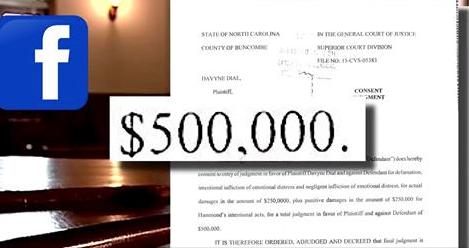 Women Sued for Defamation After Facebook Post — $500K Libel