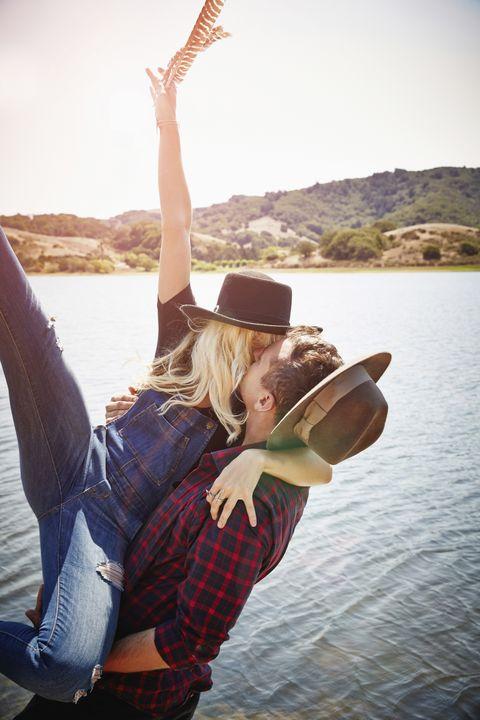 Beauty, Happy, Fun, Photography, Cool, Smile, Leg, Headgear, Vacation, Sunlight,