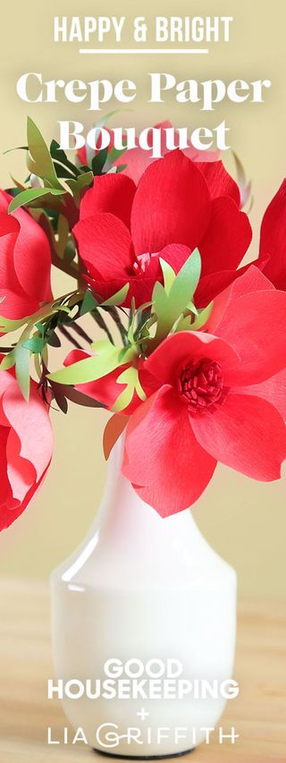 How to make crepe paper flowers diy projects pin it for later mightylinksfo