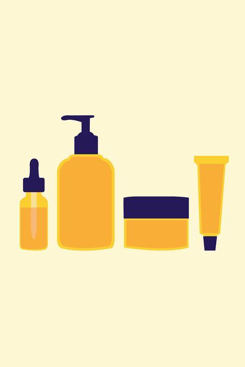 Yellow, Line, Orange, Liquid, Bottle, Peach, Plastic, Cylinder, Paint, Plastic bottle,