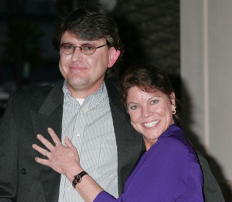 Steve Fleischmann and Erin Moran