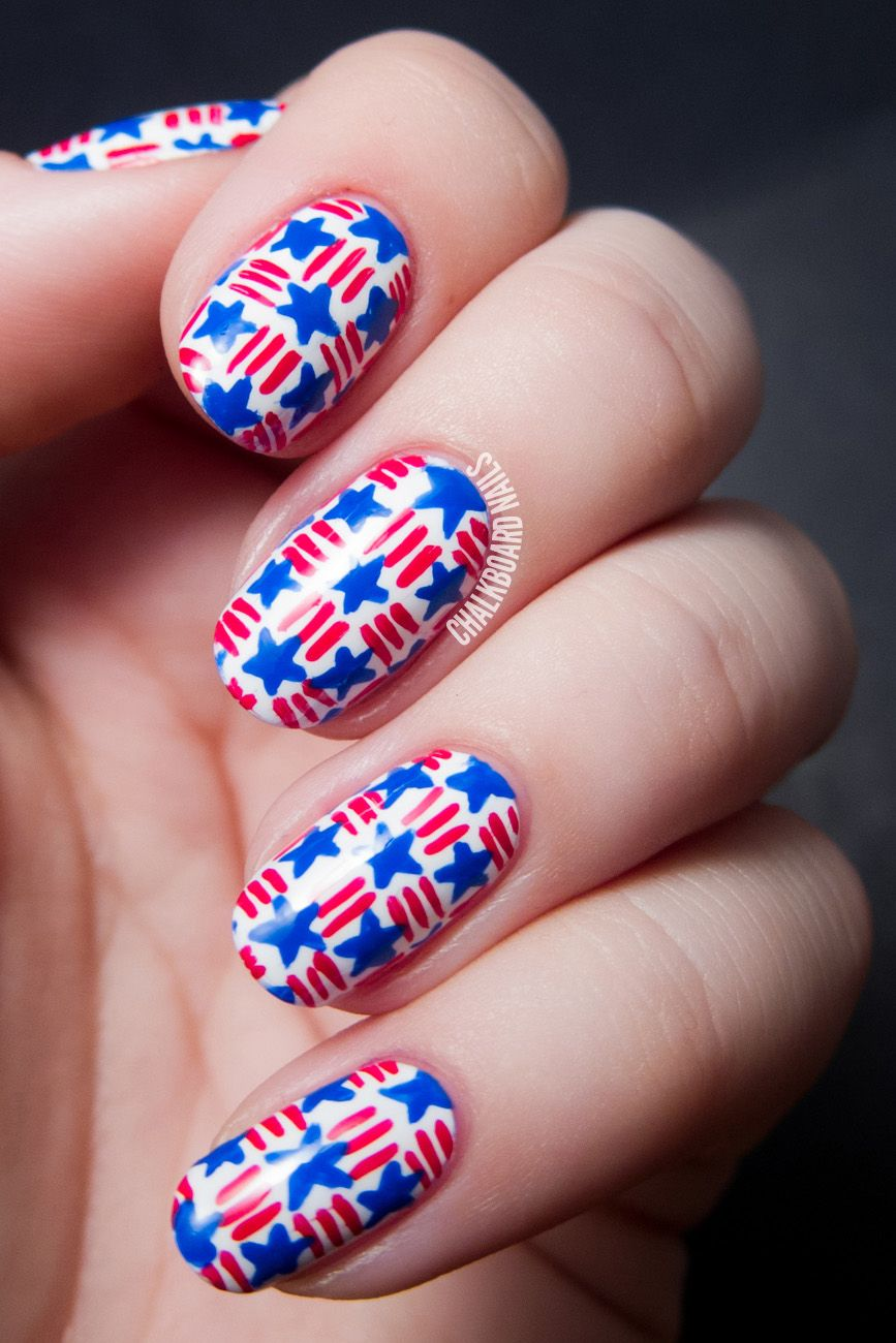 40 july for 4th of ideas nails