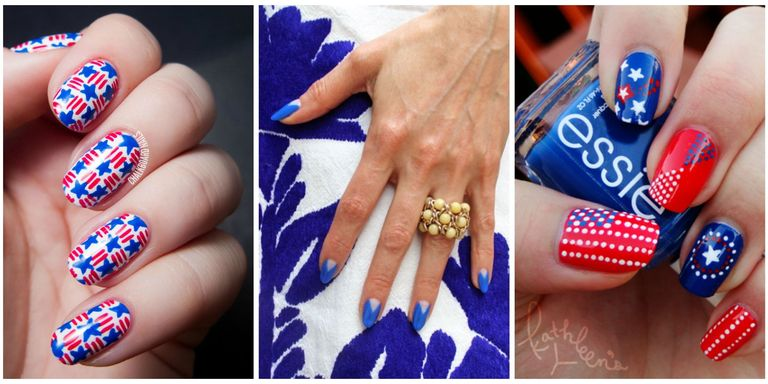 Fireworks and picnic food may be a staple of your Independence Day, but nail  art is another totally fun way to celebrate! With fun nail designs ranging  from ... - 10 Best 4th Of July Nail Art Designs - Cool Ideas For Patriotic