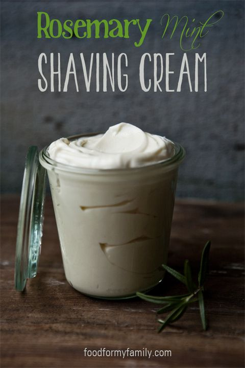 Homemade Shaving Cream - Father's Day Crafts