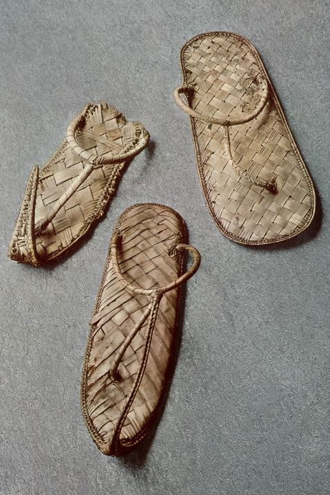 ancient egyptian flip-flops