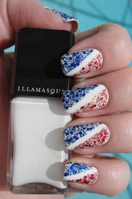 fourth of july nails - 22 Best 4th Of July Nail Art Designs - Cool Ideas For Patriotic