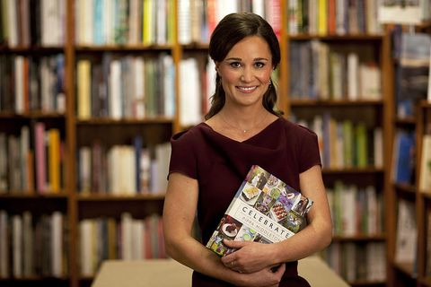 Pippa Middleton launches her book, Celebrate