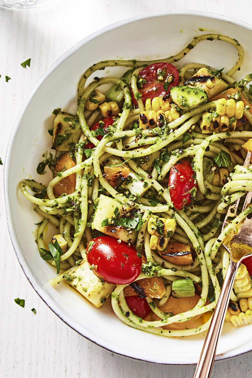 Summer Pesto Pasta
