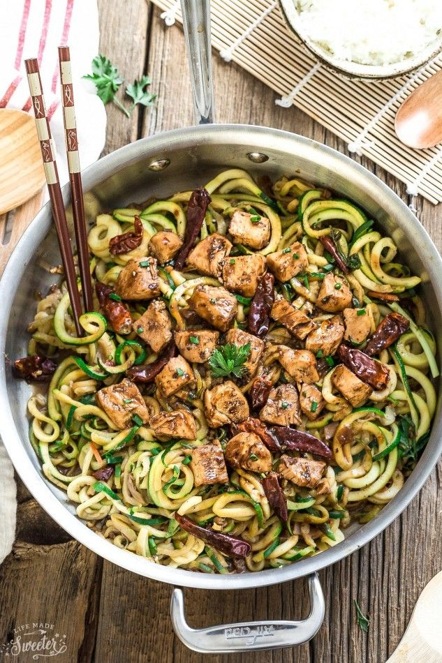 19 Best Zucchini Noodle Recipes , How to Cook Zoodles