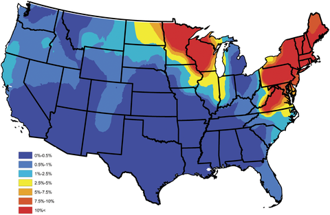 Maps Show Where Lyme Disease Will Be the Most Prevalent This ... Map Disease on wound map, vegetation map, baldness map, human microbiome map, ciguatera map, ebola in us map, addiction map, infection map, dilation map, prevalence map, actuary map, health literacy map, hiv map, membrane map, pathogen map, climate map, feces map, flowering map, acute renal failure concept map, heredity map,