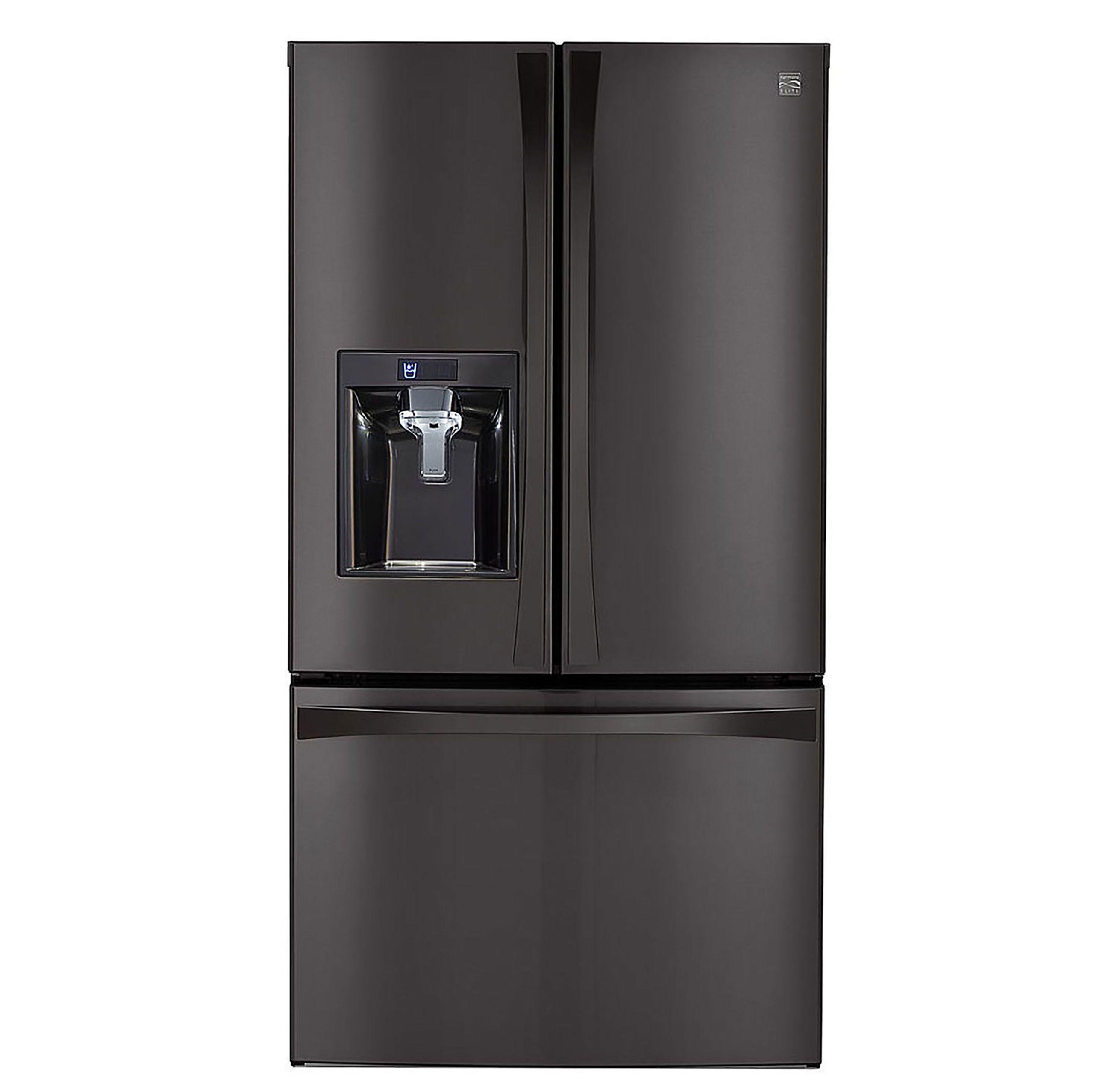 Exceptionnel Kenmore Elite 29.8 Cu. Ft. French Door Bottom Freezer Refrigerator 74027