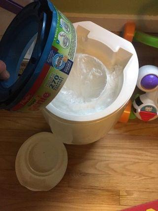 Diaper Genie Bag Hack - Use Garbage Bags in Your Diaper Genie