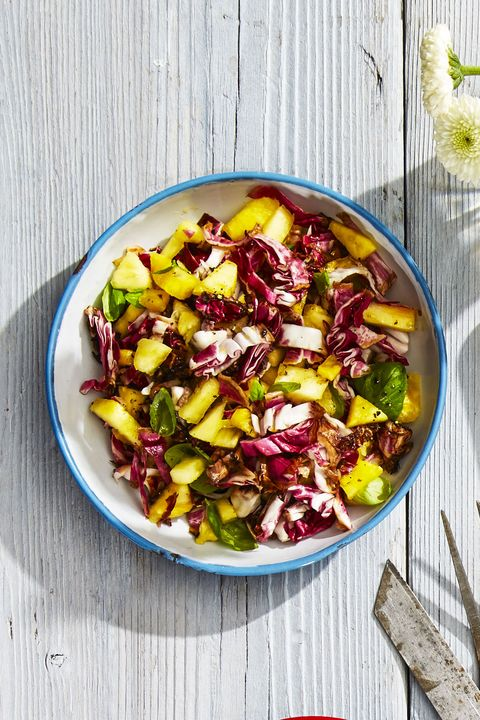 Tropical Radicchio Slaw - Labor Day Recipes