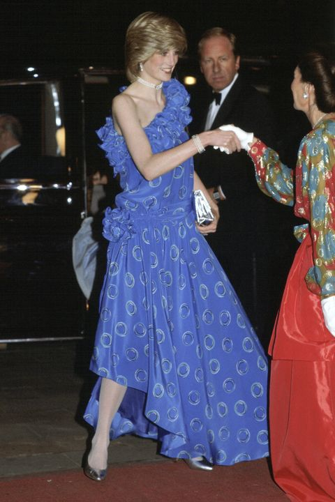 princess diana patterned dress