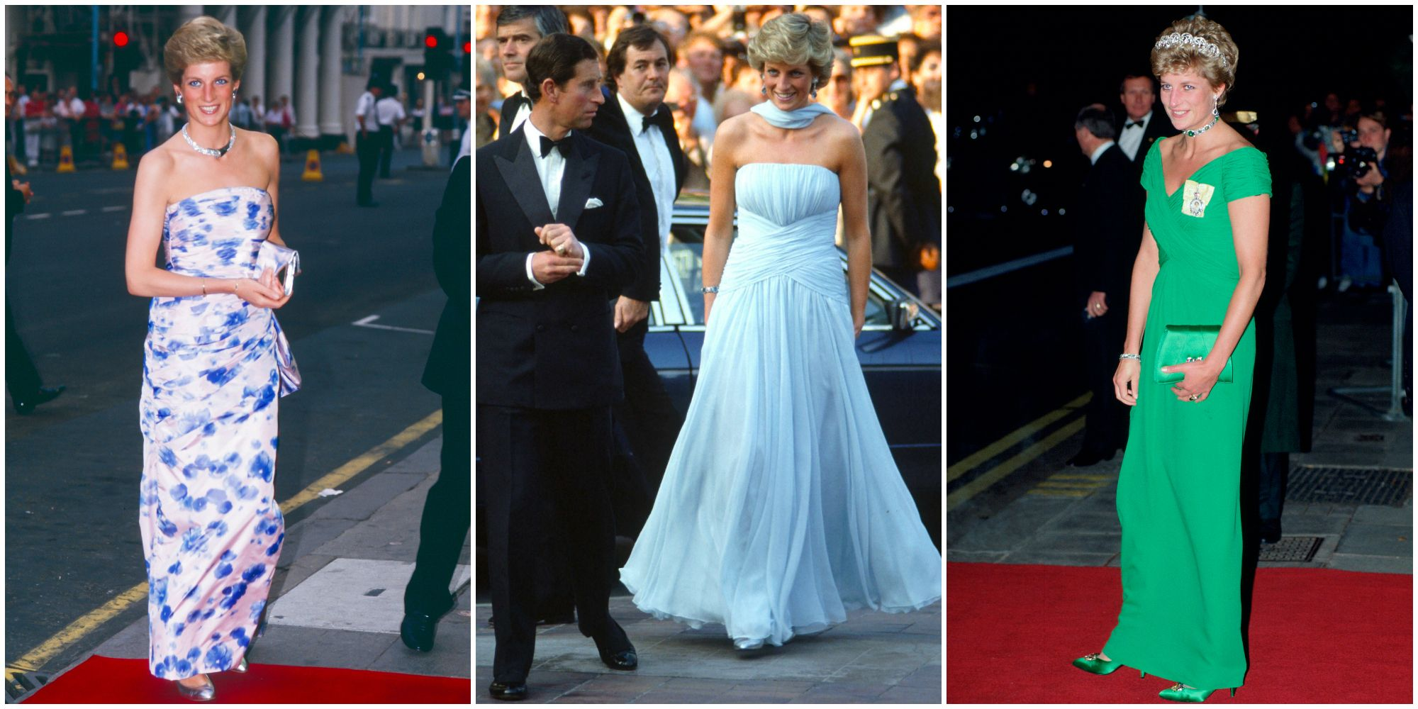 Princess Diana\'s 40 Best Dresses - Royal Family Fashion