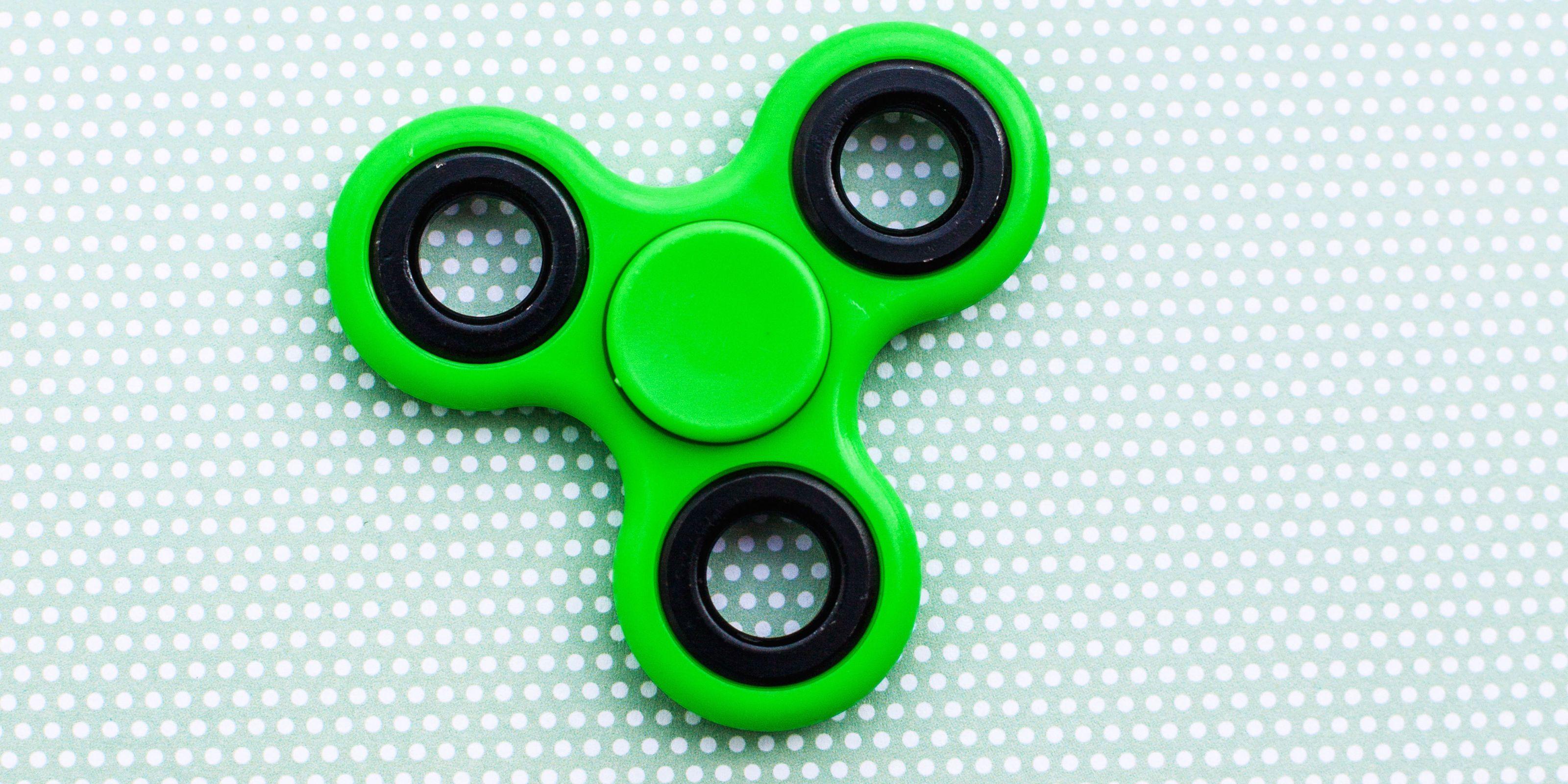 Krazy Spinner Blue Fidget Toy Brand New Gift
