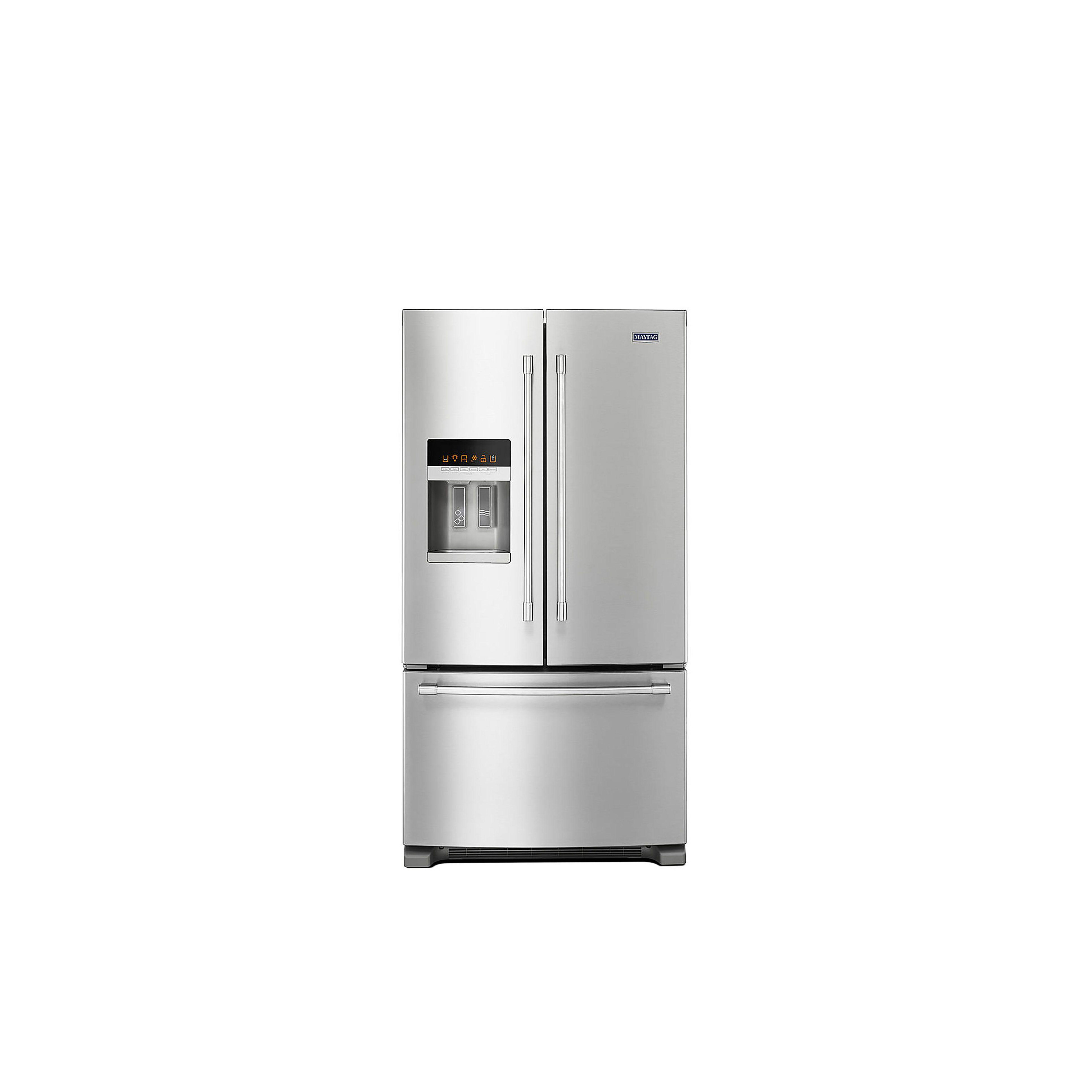 Maytag 36-Inch Wide French Door Refrigerator 25 Cu. Ft. MFI2570FEZ01 ...