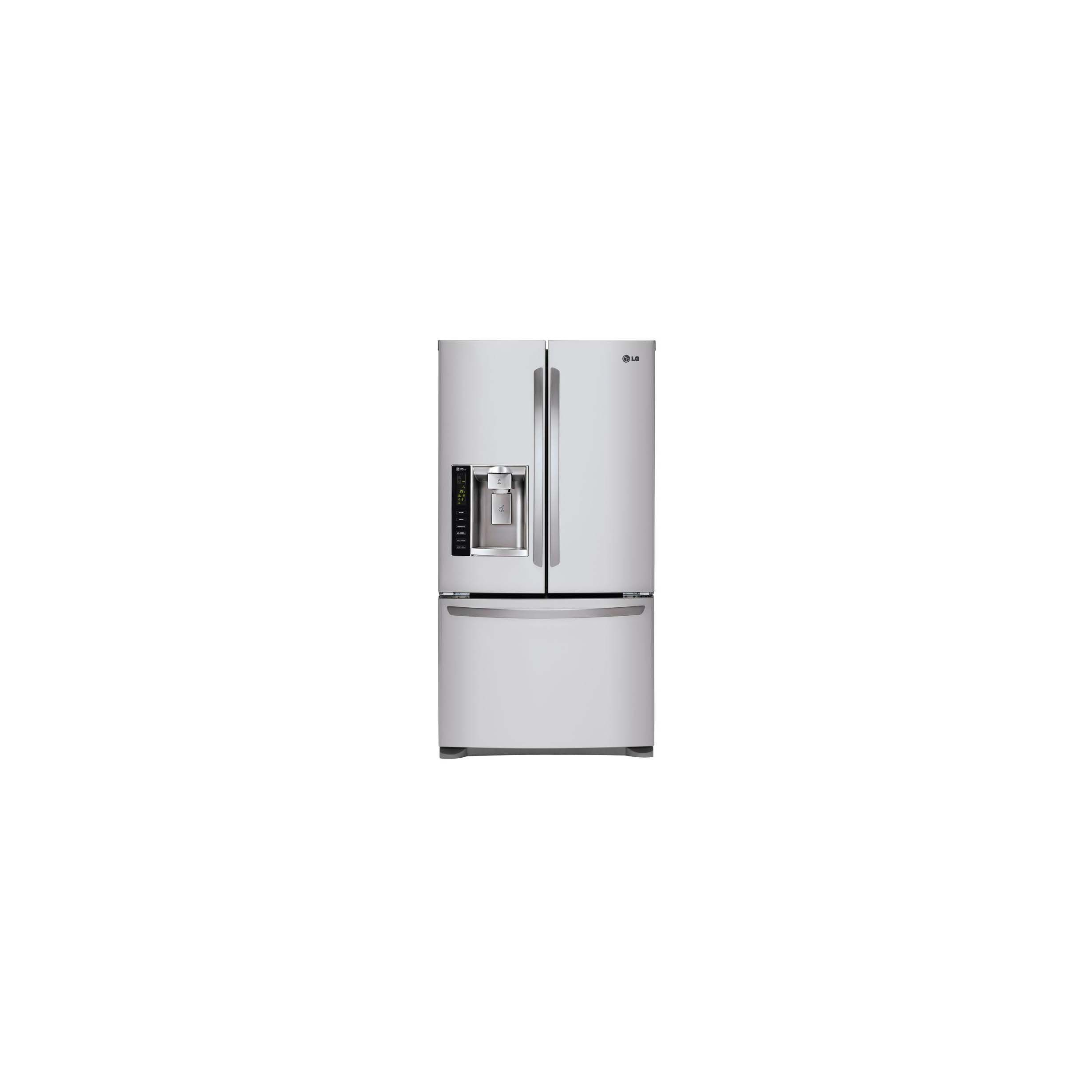 refrigerator smart enabled door in wid hei cu fi p ft w black qlt wi doors prod stainless lg