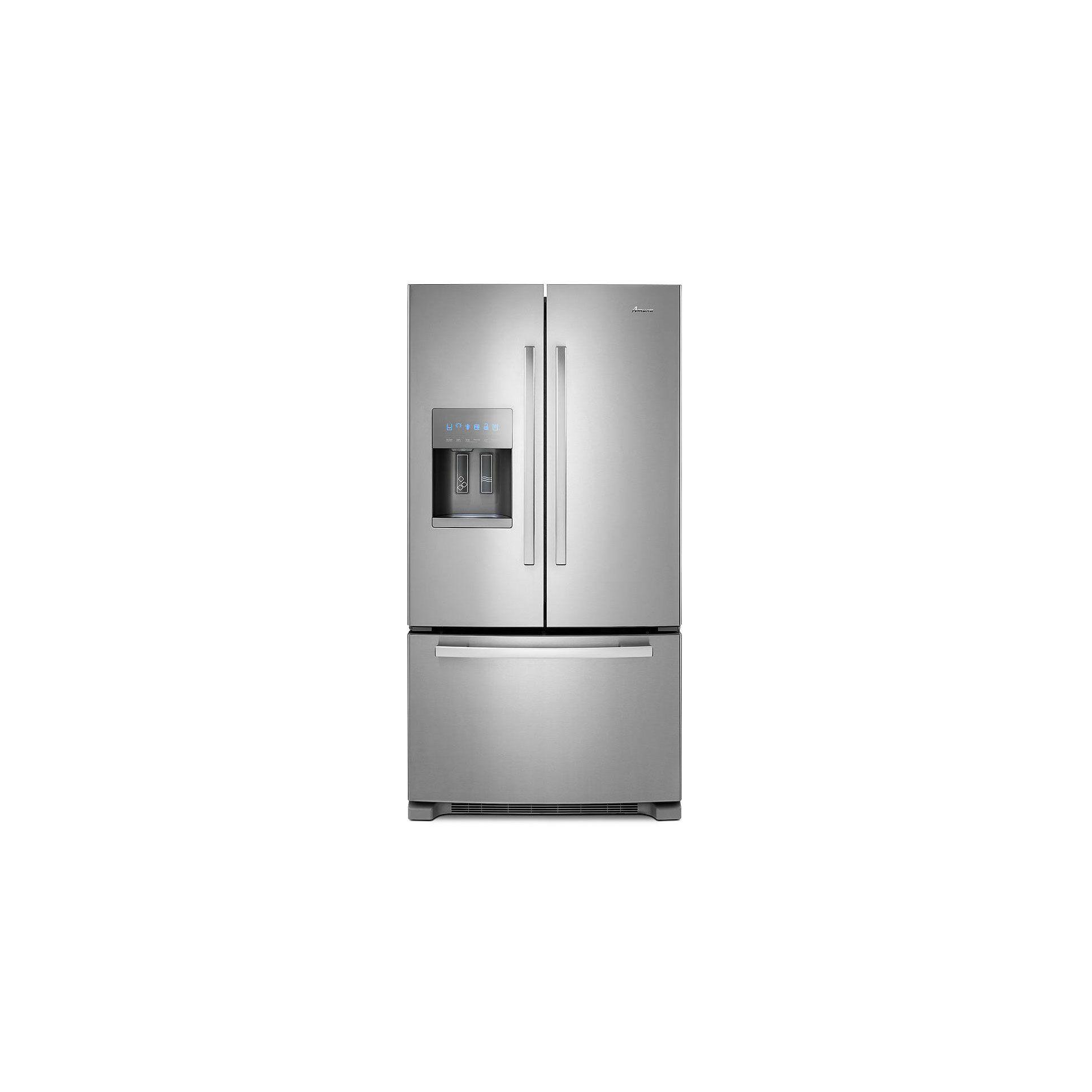 Amana 36-Inch Wide French Door Bottom-Freezer Refrigerator