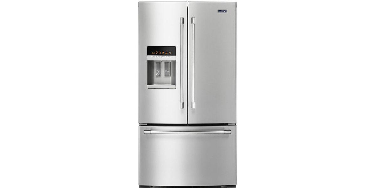 Maytag 36 Inch Wide French Door Refrigerator 25 Cu Ft