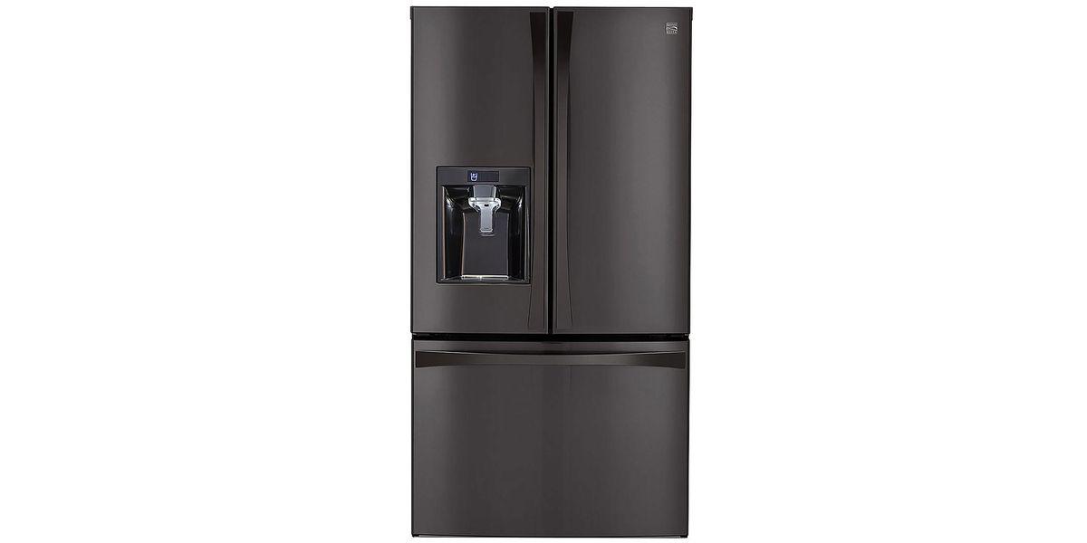 Kenmore Elite 29 8 cu  ft  French Door Bottom-Freezer Refrigerator