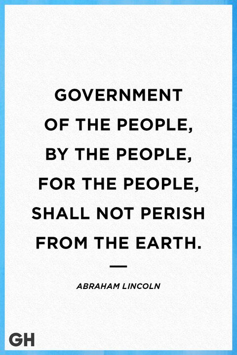 Abraham Lincoln Fourth Of July Quote