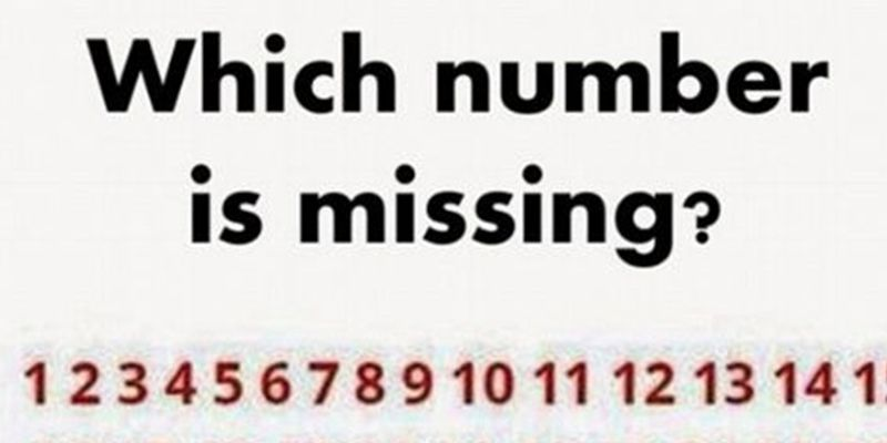 spot missing number in viral puzzle find the missing digit