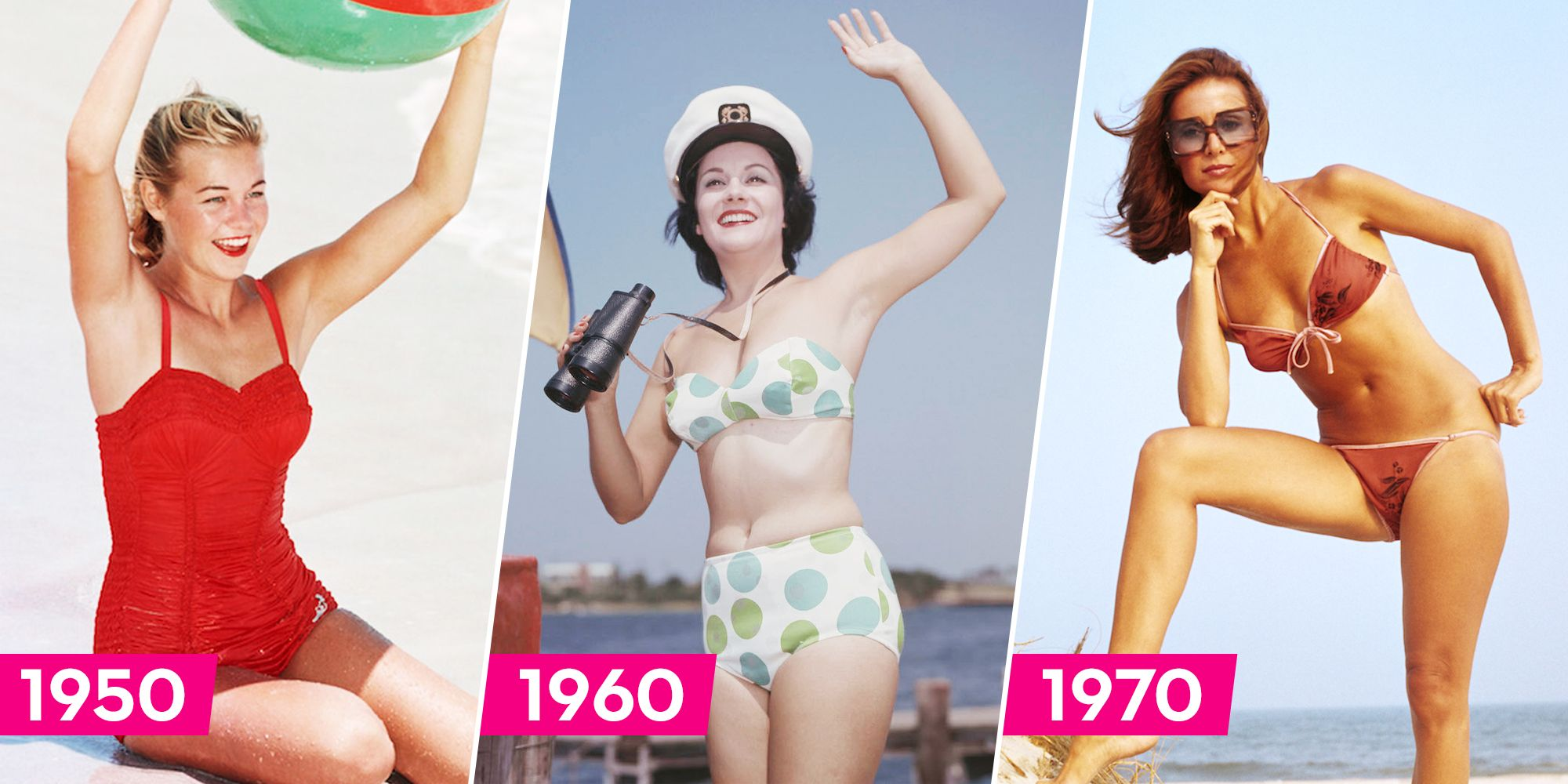 519b5634b8 The Best Retro Swimsuits Over the Years - Vintage Bathing Suit and ...
