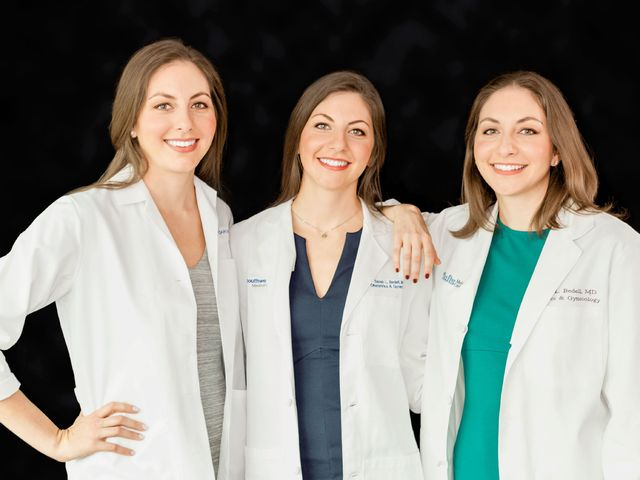 triple play for women s health triplets become ob gyns and join